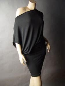 Asymmetric Shoulder Dress S M L 17712 asymmetric the shoulder boat neck casual blouson 11 mv