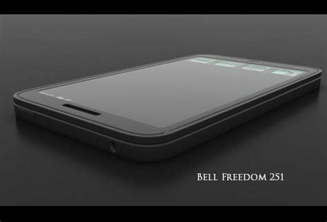 Smartphone Bell Freedom cheapest smartphone quot freedom 251 quot launching on wednesday