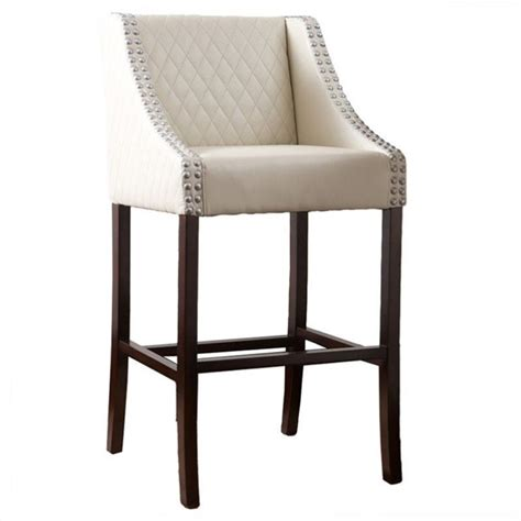 Ivory Bar Stools by Trent Home 28 Quot Carlita Bar Stool In Ivory 927182cy