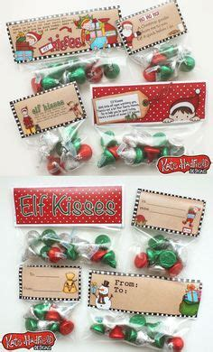 Elf kisses free printable bag toppers by kate hadfield perfect for