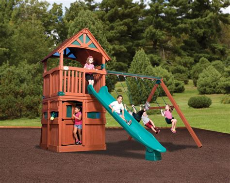 3 swing set swingsets and playsets nashville tn olympian treehouse