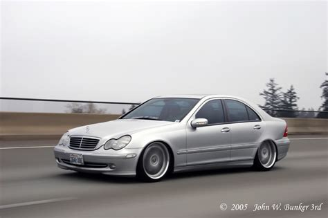 bagged mercedes c class pics of w203 bagged der kit mbworld org forums
