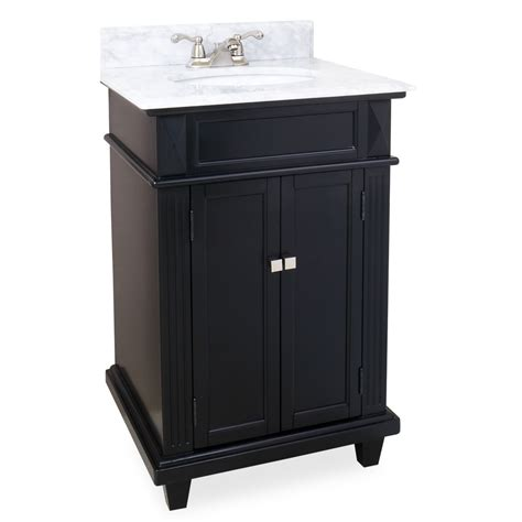 Bathrooms With Black Vanities 24 Douglas Black Bathroom Vanity Van057 Bathroom Vanities Bath Kitchen And Beyond