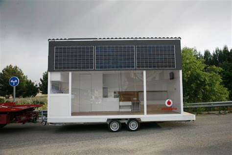 la casa movil vodafone mobile solar home