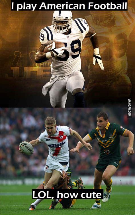 american football  rugby gag