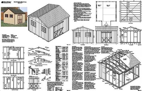 Free 10x12 Shed Plans Pdf by Denlo 12x12 Shed Plans Pdf