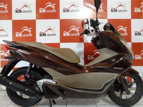 Pcx 150 Dlx 2018 by Honda Pcx 150 Dlx Marron 2017 Km Motos Sua Loja De