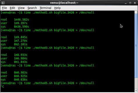 how to read a file line by line in a shell script bash