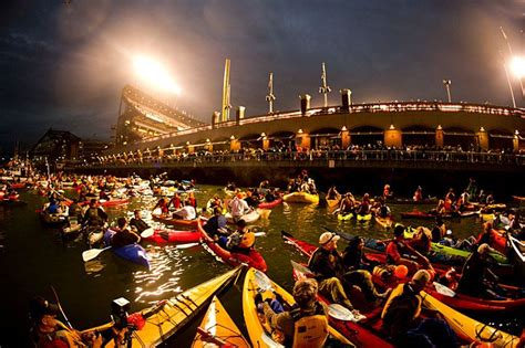 mccovey cove boat party 17 best images about san francisco giants mccovey cove