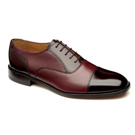 burgundy oxford shoes loake mens bibury burgundy oxford tie shoe at marshall shoes