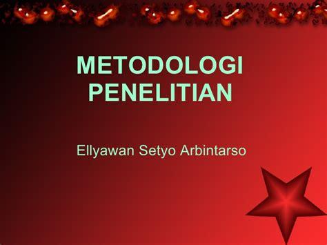 Metodologi Penelitian Anwar Sanusi metodologi penelitian
