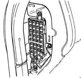 1993 ford ranger fuse panel diagram gallery diagram
