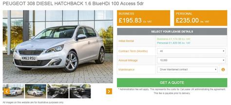 peugeot lease deals in review ford focus st line 1 5 tdci