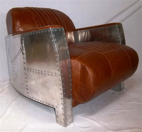 Aviator Armchair by Lot Detail Designer Aviator Armchair