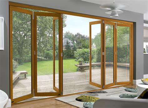 Bi Folding Doors Exterior Which Way Should Your Bifold Doors Open Outlook Aluminium