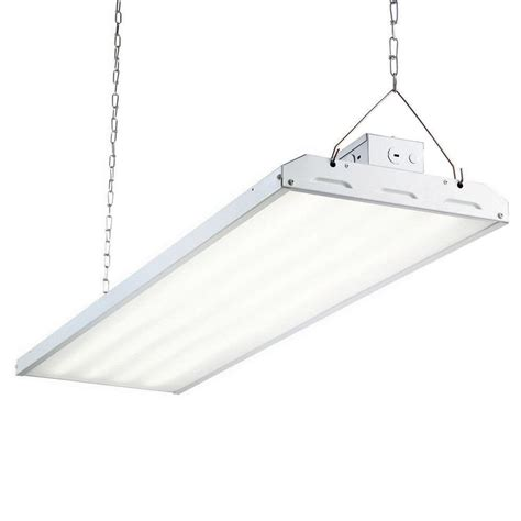 commercial lights commercial electric 4 ft 1 l 30 watt white integrated