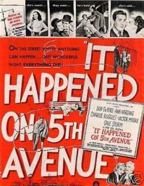 film it happened on fifth avenue it happened on 5th avenue 1947 deep roots magazine