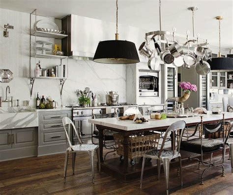 kitchen island with hanging pot rack how to instantly upgrade your kitchen without spending a