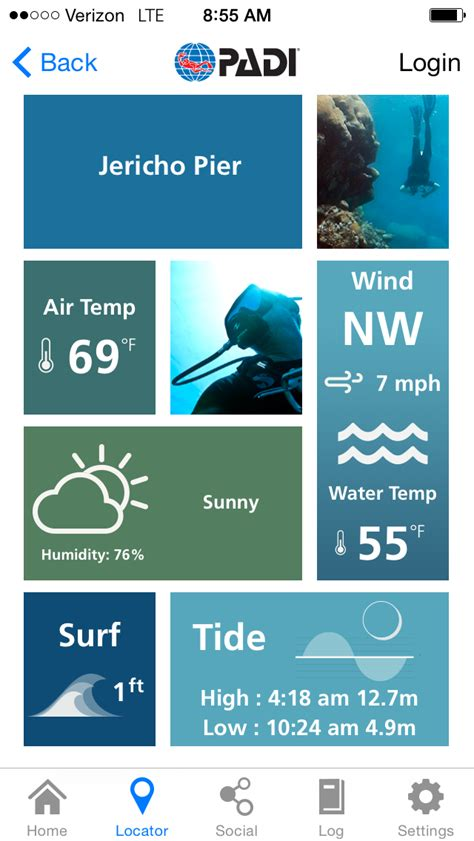 dive app discover top dive with the padi app