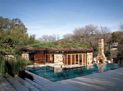 murray legge s gorgeous pool house is topped off with a