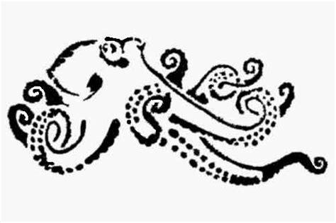 octopus template octopus stencil template stencils octopus