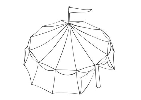 circus tent coloring pages az coloring pages