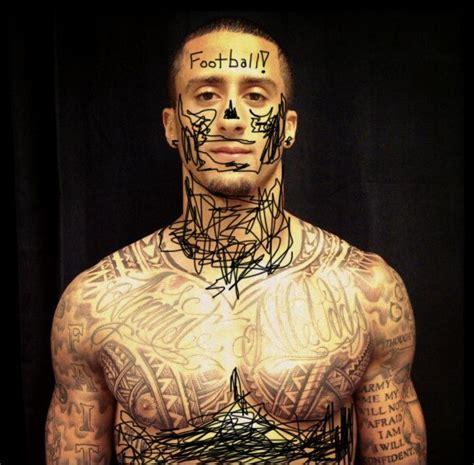 kaepernick tattoos 1000 images about colin kaepernick on