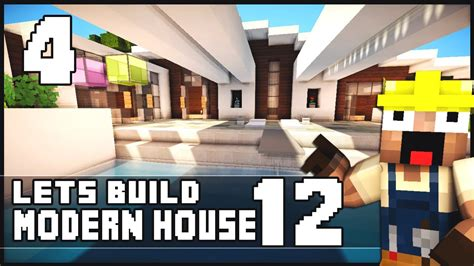 modern house 12 minecraft inspiration youtube minecraft lets build modern house 12 part 4 download