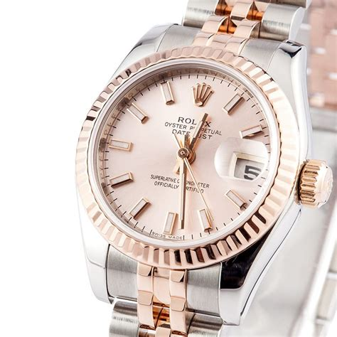 Rolex Datejust Combi Rosegold rolex datejust gold jubilee save up to 50 at bob s
