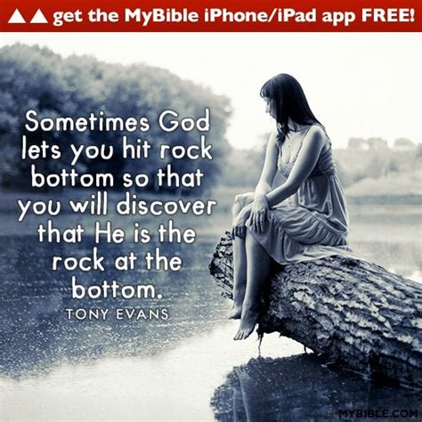 Hits Rock Bottom by Hitting Rock Bottom Quotes Quotesgram