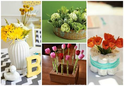 baby shower centerpieces you can make yourself