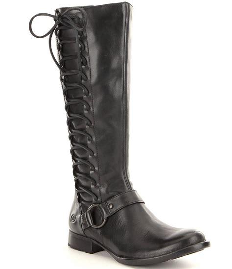 born boots for born estelle black boots in black lyst