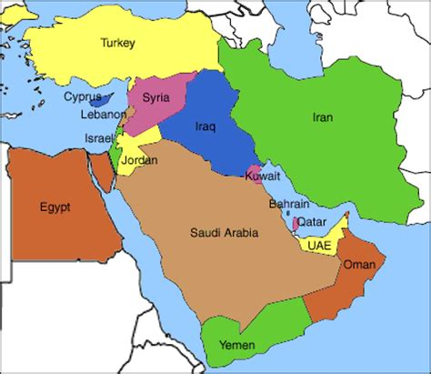 middle east map new what is middle east indonesia center for middle east