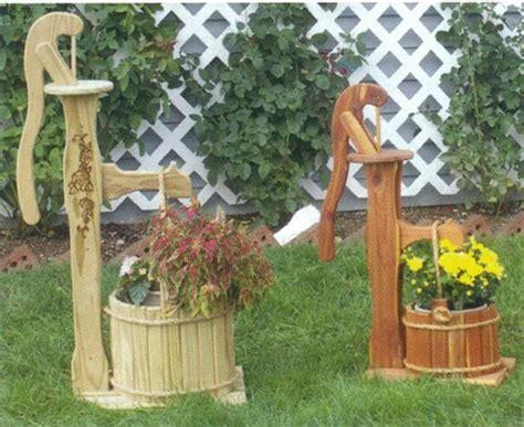 Wooden Garden Decor Wooden Garden Decor House Decor Ideas
