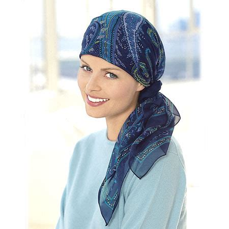 free scarf tying for chemo patients review