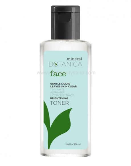 Mineral Botanica Lip Serum brightening toner review daily