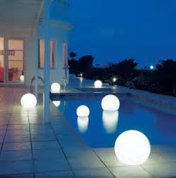 outdoor pool lighting outdoor moonlight globe light modern outdoors