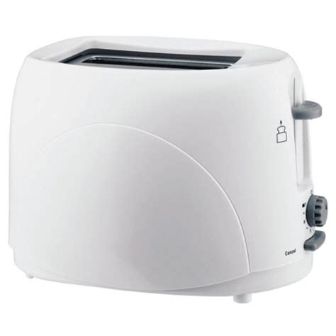 Tesco 2 Slice Toaster buy tesco 2t07 2 slice toaster white from our toasters range tesco