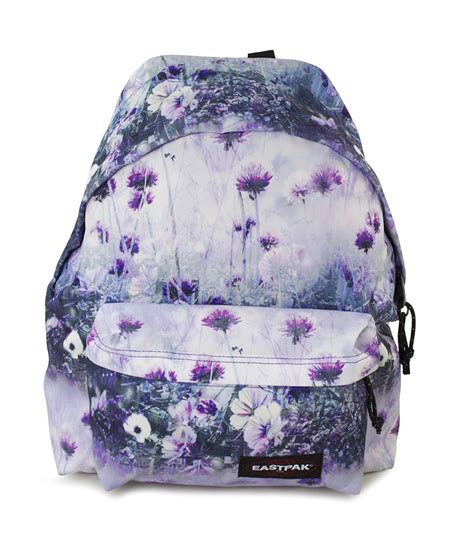 zaino eastpak fiori eastpak orbit zaino scuola purple chive