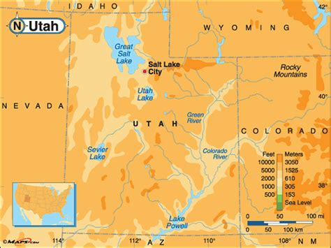 utah elevation map utah elevation map afputra