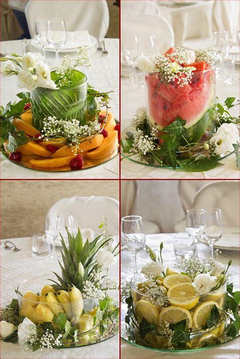 centro tavola fiori centrotavola di fiori frutta e verdure peccati di gola