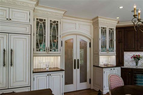Decorative Glass For Kitchen Cabinets White Kitchen Cabinet Doors With Glass Inserts Deductour