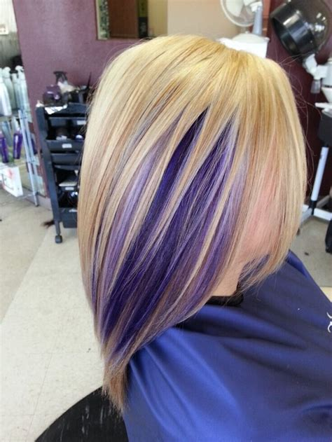 hairstyles with lavender highlights 17 stylish hair color designs purple hair ideas to try