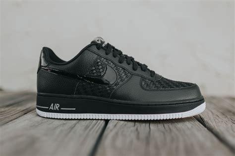 Nike Air Fprce 1 nike air 1 low 07 lv8 black woven sneaker hypebeast