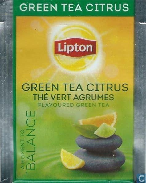 Teh Lipton Green Tea green tea citrus lipton catawiki