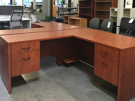 used l shaped desks used l shape desks various manufacturers arizona office