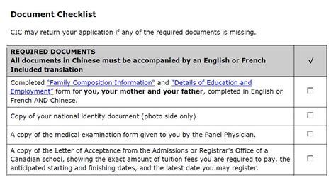 Lmia Document Checklist