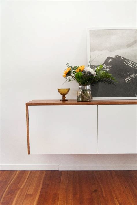 ikea floating sideboard fauxdenza from the brick house blog ikea akurum kitchen