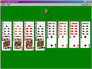 Free Cell Lookup Freecell Microsoft Windows The Cutting Room Floor