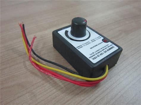 Kipas Dc jual dimmer dc 12v 5 15v 8a untuk fan kipas led dinamo